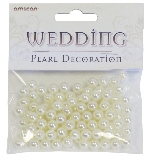 Rustic Wed Pearl Decorations