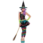 Neon Witch Teen S  10-12 yrs             **Stock