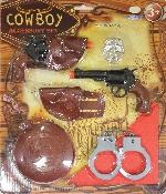 Cowboy Accessories Set - Edad 3-6 Años