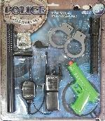 Police Accessories Set - Edad 3-6 Años