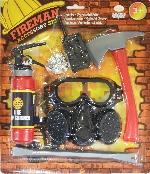 Fireman Accessories Set - Edad 3-6 Años