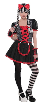 Gothic Doll Teen S 10-12yrs             **Stock