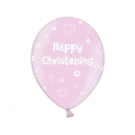 GLOBO LATEX:  28cm:25pk Christ. Pink