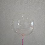 50 GLOBOS BUBBLE - BURBUJA CRISTAL 18'- 45cm (SIN PALO, SIN COPA)