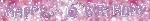Banderin 2.7m HoloG Hapy 16th BD
