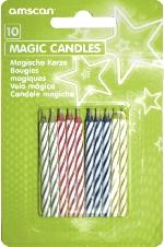 10 Magic Velas Assorted  **Stock