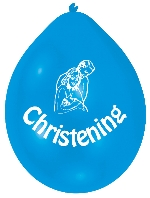 GLOBO LATEX pk10 22cm Christening