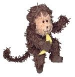 Piñata Monkey