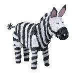 Piñata Zebra