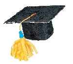 Piñata Graduation Hat
