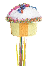 Piñata Cupcake Multi Colour Pull