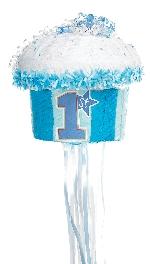 PINATA pull:1ST Cupcakes Azul