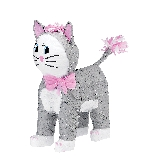 Piñata Grey Cat