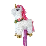 Piñata Magical Unicorn Deluxe Pull  32cm x 46cm