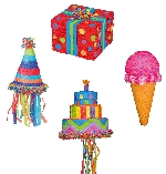 Piñata Assorted Birthday Designs