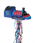Piñata Blue Train Pull