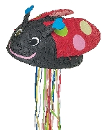 Piñata Lady Bug Pull