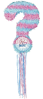 Piñata Gender Reveal Pull