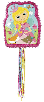 Piñata Woodland Princess Pull