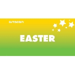 Terjetas Easter Point of Sale 2ft/61cm x 1ft/30cm