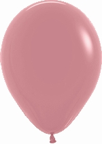 GLOBO LATEX FASHION SLD ROSA PALO 30cm