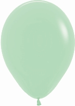GLOBO LATEX FASHION SLD VERDE MENTA 30cm