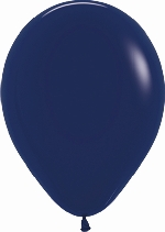 GLOBO LATEX FASHION AZUL NAVAL 30cm