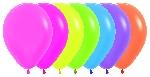GLOBO LATEX NEON SURTIDO 209-12-20-30-40-51-61  30cm