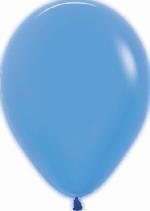 GLOBO LATEX NEON AZUL 30cm
