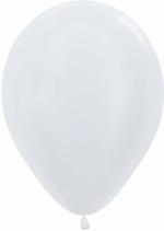 GLOBO LATEX SATIN BLANCO 30cm