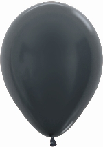 GLOBO LATEX METAL GRAPHITE 30cm
