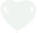 R12 Forma Corazon Blanco Fashion 30cm