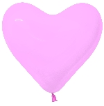 G LATEX FORMA  CORAZON ROSADO 30cm