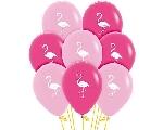 Globo Latex Fashion Flamingo 009-012 - 2 Caras 30cm