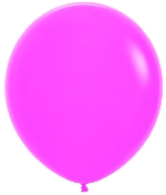 GLOBO LATEX FASHION SLD FUCSIA 45cm