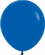 GLOBO LATEX FASHION SLD AZUL REY 45cm