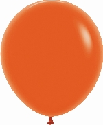 GLOBO LATEX FASHION SLD NARANJA