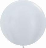 GLOBO LATEX SATIN BLANCO 60cm