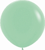GLOBO LATEX FASHION SLD VERDE MENTA 90cm
