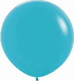 GLOBO LATEX FASHION SLD AZUL CARIBE 90cm