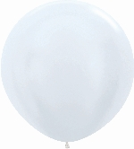 GLOBO LATEX SATIN BLANCO 90cm