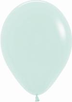 GLOBO LATEX PASTEL VERDE 12.5cm