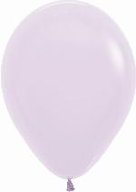 GLOBO LATEX PASTEL LILA 12.5cm