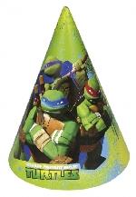 Gorro Cono TeenEdad Mutant Ninja Turtles Paper Party Hats