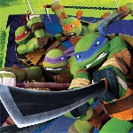 Servilletas TeenEdad Mutant Ninja Turtles Luncheon Napkins 33cm