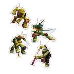 Vela TeenEdad Mutant Ninja Turtles Mini Figurene