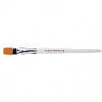 SNAZ LARGE FLAT BRUSH -Blanco