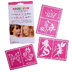 Snazaroo RE-USE STENCILS Girls