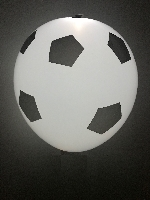 GLOBO LATEX CON LED BALON GOAL