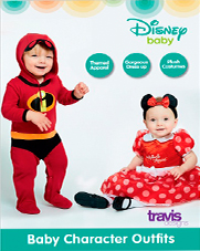 Disfraces Bebe Disney Amscan Travis